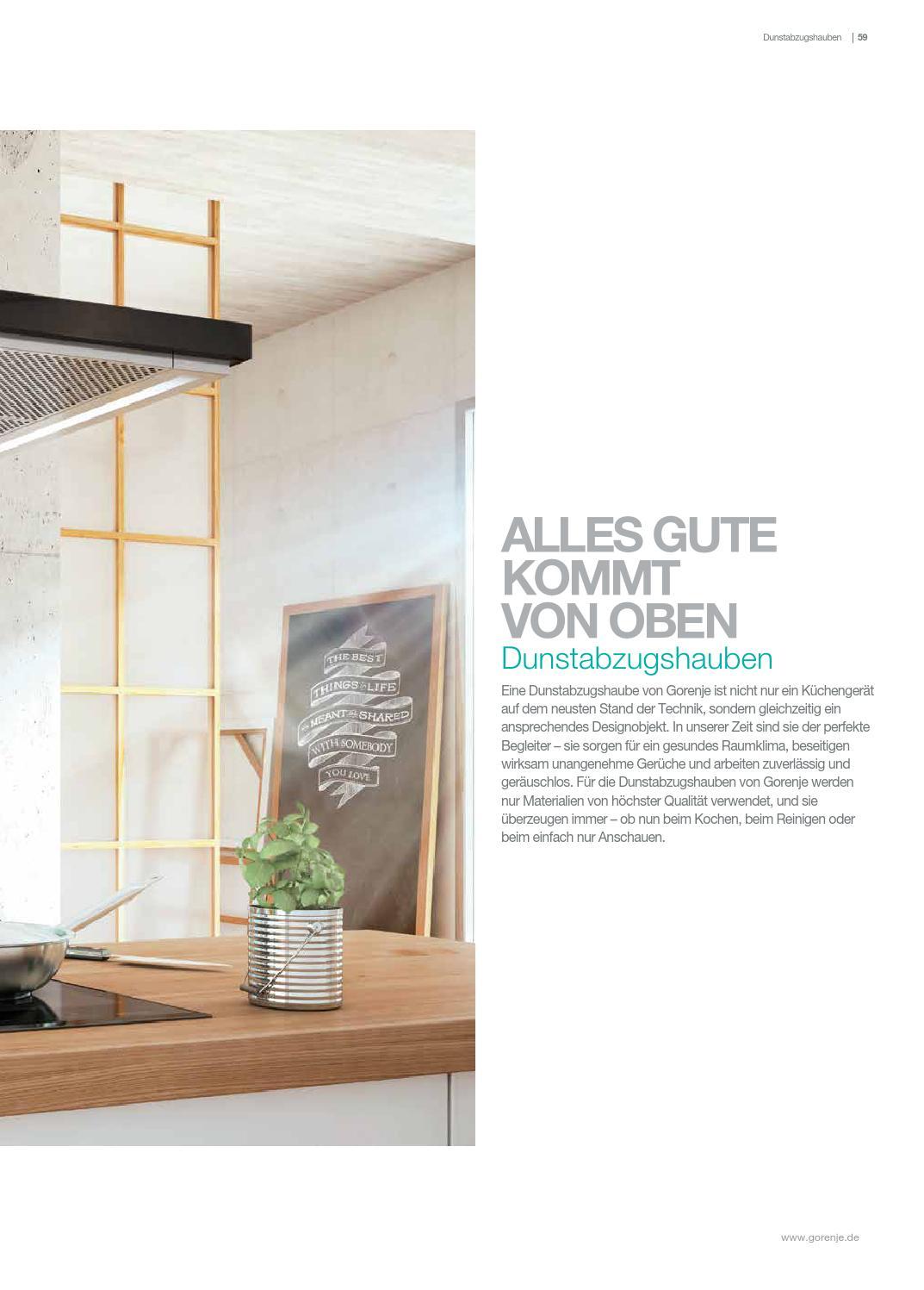 Katalog Einbaugerate 2015 By Gorenje D D Issuu