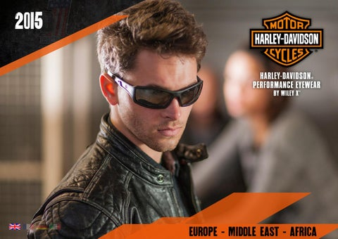 be71531859dc Harley-Davidson Performance Eyewear by Wiley X 2015 English Catalog ...