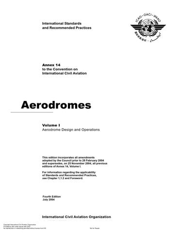 ICAO Annex 14 vol I by Igli Larashi - issuu