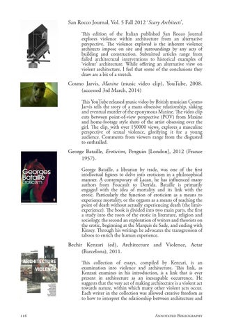 Design Thesis Sadomasochism And Transgressive Architecture By