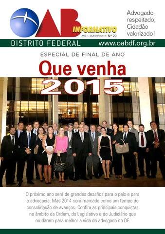 Informativo20 by Ordem dos Advogados do Brasil – Seção do Distrito ... 010dd4961d