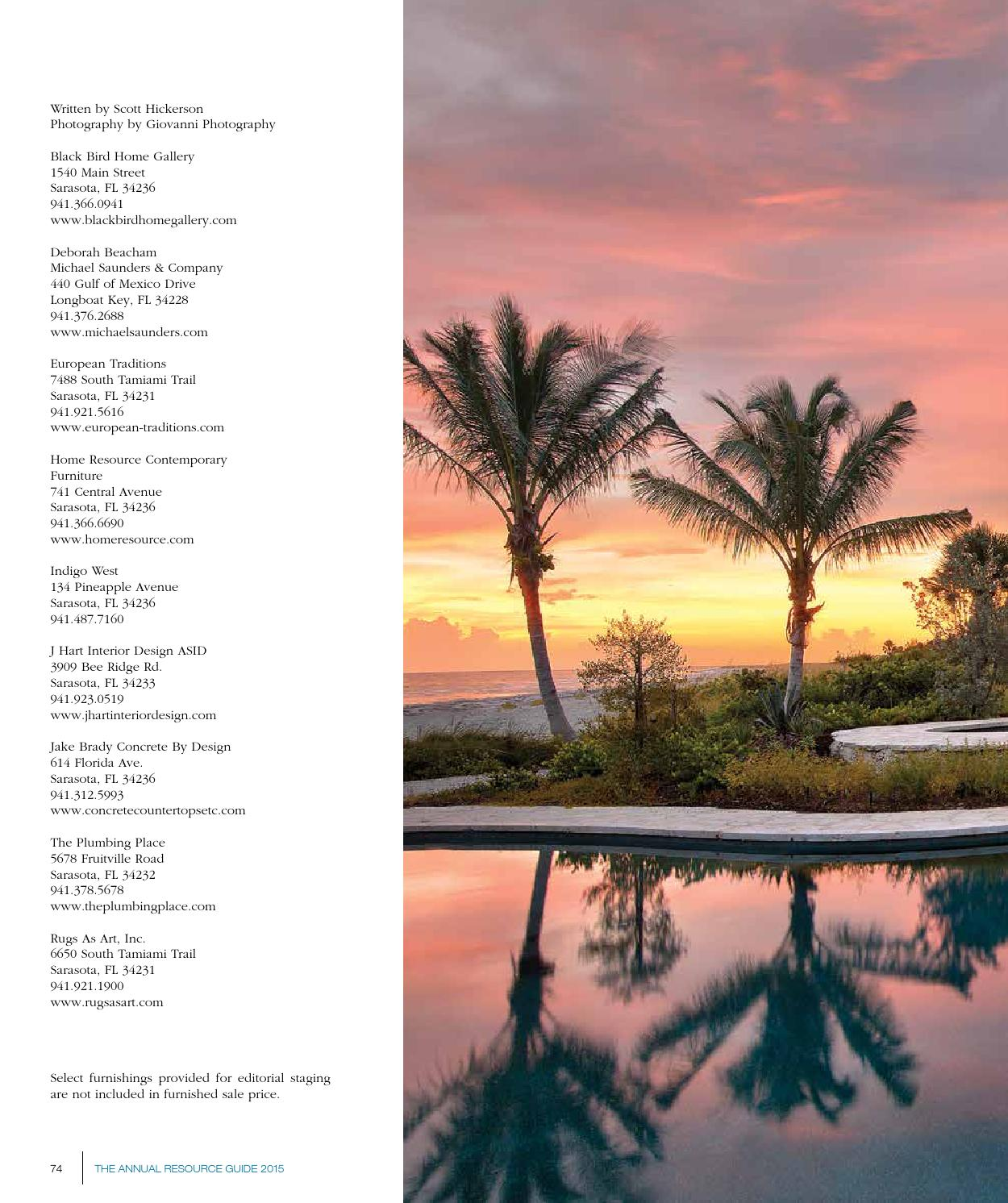 Home Design Magazine Annual Resource Guide 2015 Suncoast