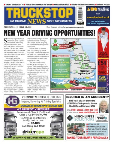 Truck stop news february 2015 by kelsey publishing ltd issuu page 1 fandeluxe Choice Image