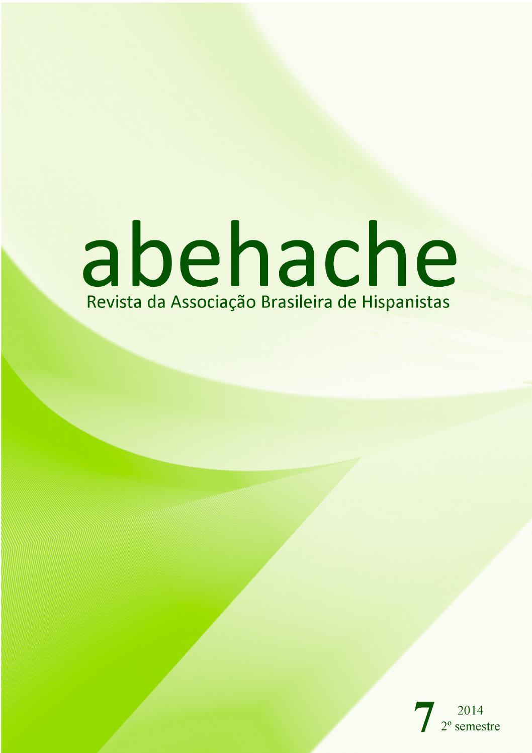 Abehache 7 completo by Associação Brasileira de Hispanistas - issuu