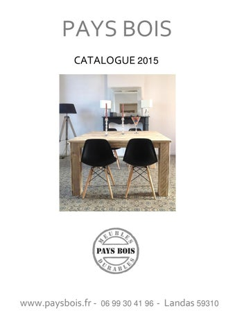 Pays bois catalogue by pays bois issuu for Miroir 200x80