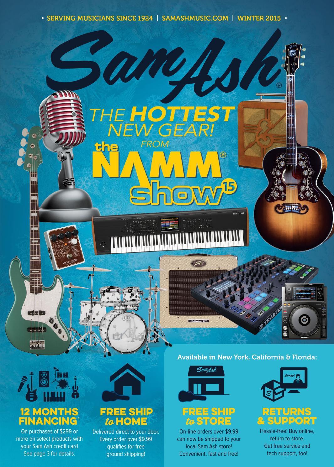Sam Ash Winter 2015 Gear Guide by Sam Ash Music Corp. - issuu