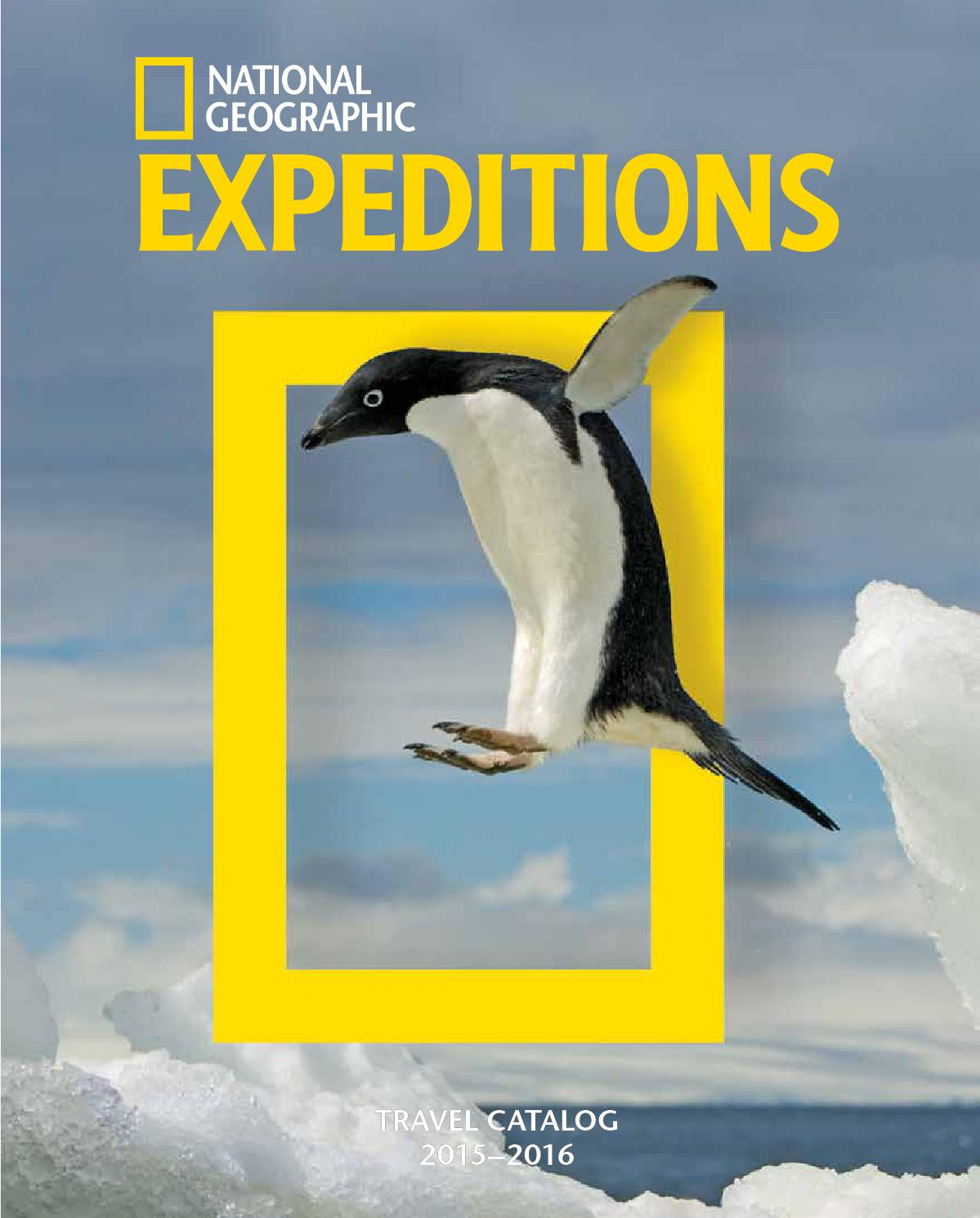 2015 2016 National Geographic Expeditions By T Shirt Adventure Issuu