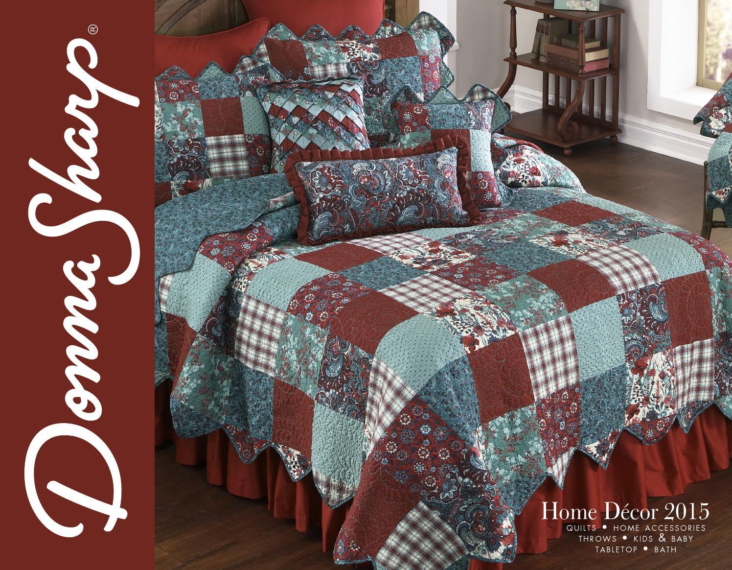 2015 Home D Cor Catalog By Donna Sharp Inc Issuu