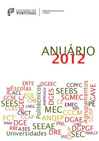 803ee51e2 Anuário do Ministério da Educação e Ciência – 2012 by SGMEC - issuu