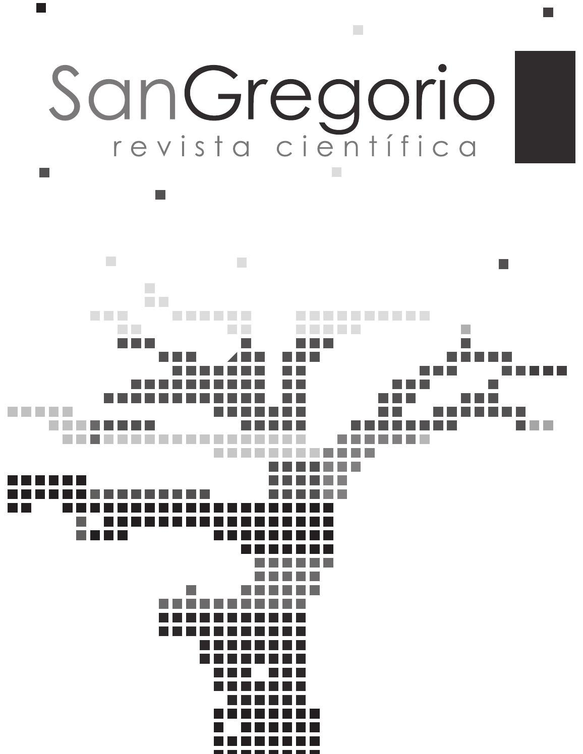 Revista San Gregorio nº 6 by Universidad San Gregorio - issuu