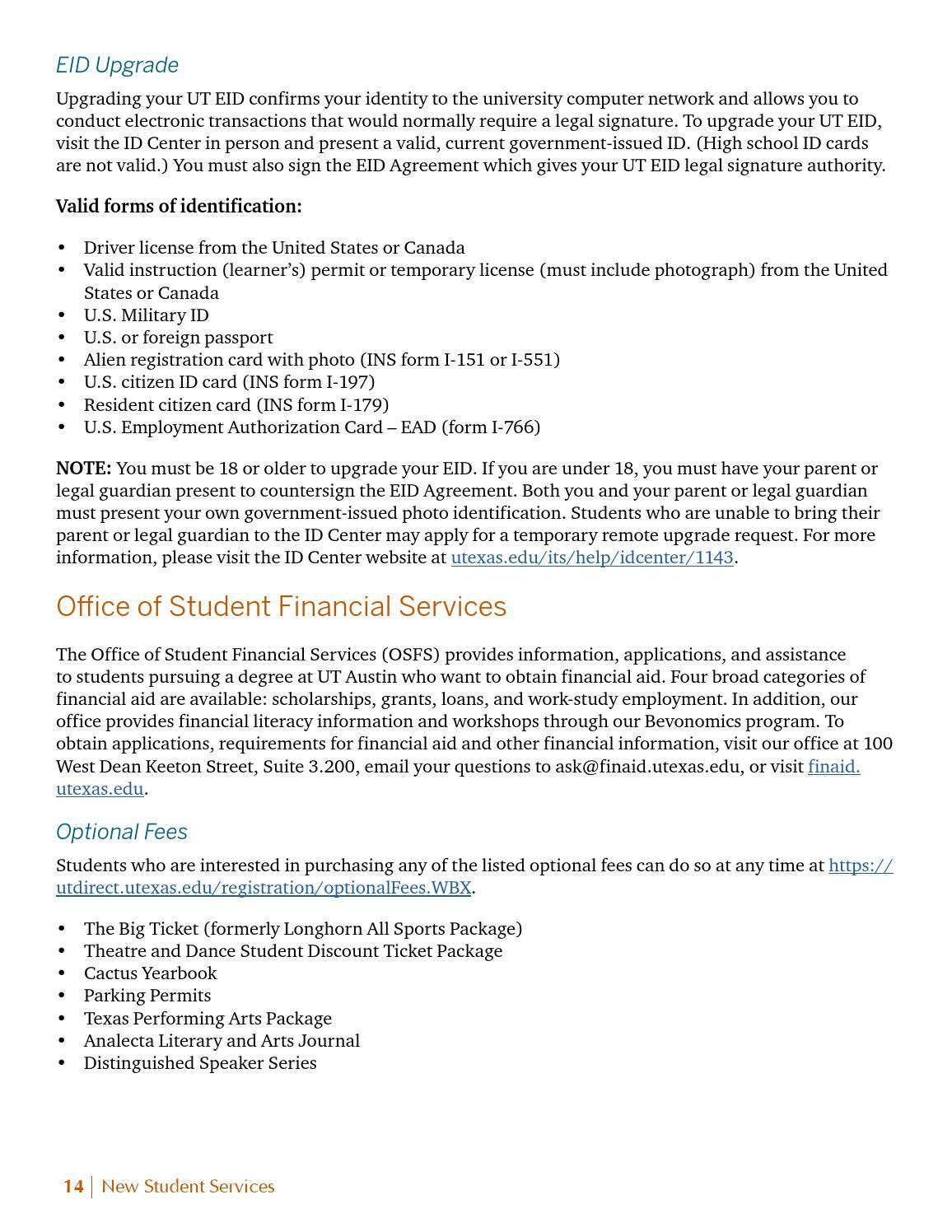 Ut Austin Spring 2015 New Student Guide By Ut Orientation Issuu