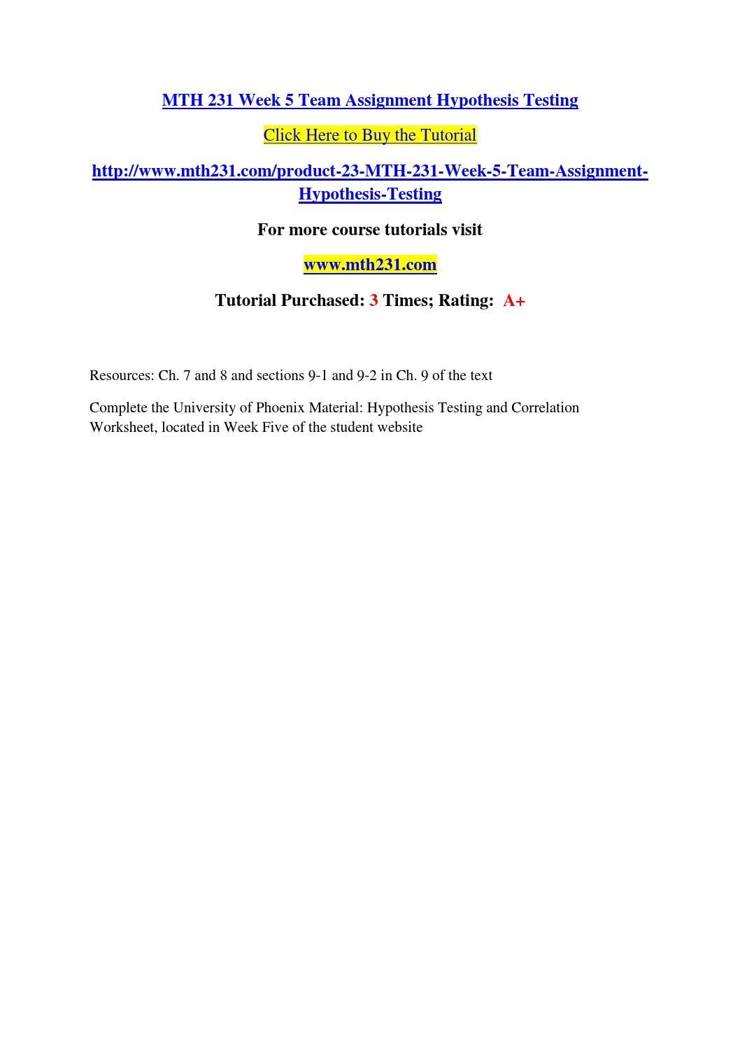 analyzing hypothesis testing essay Null hypothesis essays and research papers | examplesessaytodaybiz  advanced hypothesis testing essay  analyzing and interpreting data.