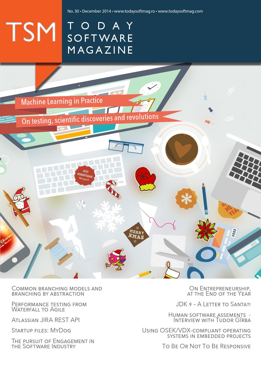 Issue 30 - December - Today Software Magazine by Today