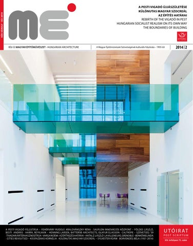 eecb15cdbb Hungarian Architecture 2014/2 by Hungarian Architecture - issuu