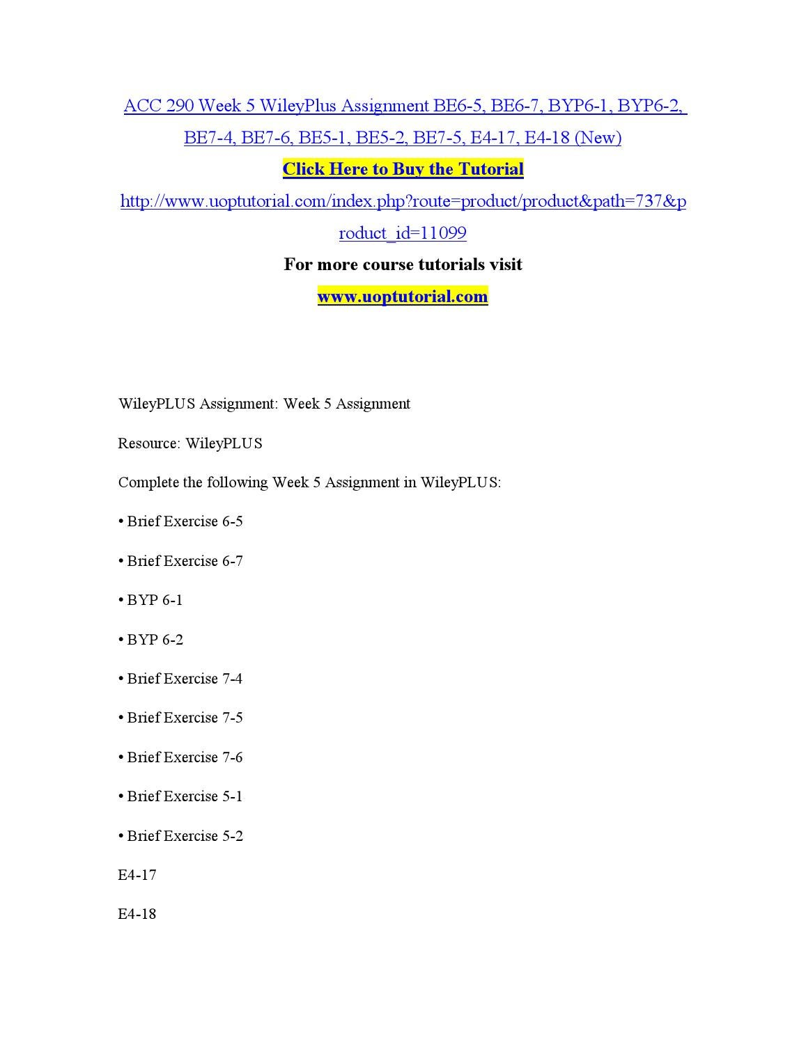 acc 561 week 5 byp17 7 We offer acc 561 week 1, week 2, week 3, week 4, week 5 individual and team assignments and here also find acc 561 dq and entire course study materials.
