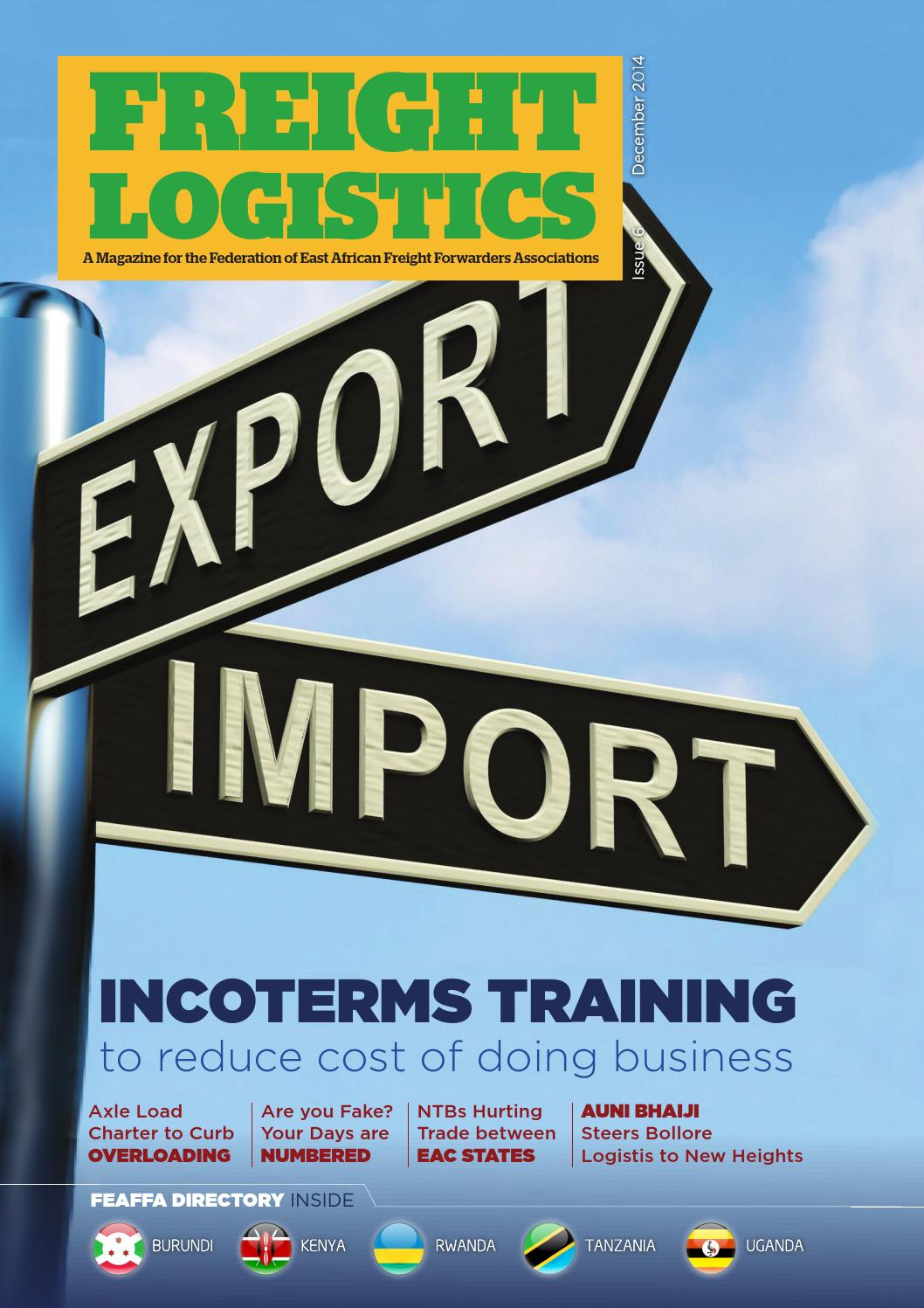 Freight Logistics Issue 6 by Uplifted Studios - issuu