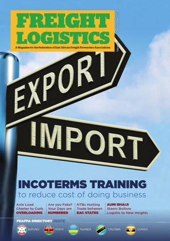 freight logistics issue 6 by uplifted studios issuufreight logistics issue 6