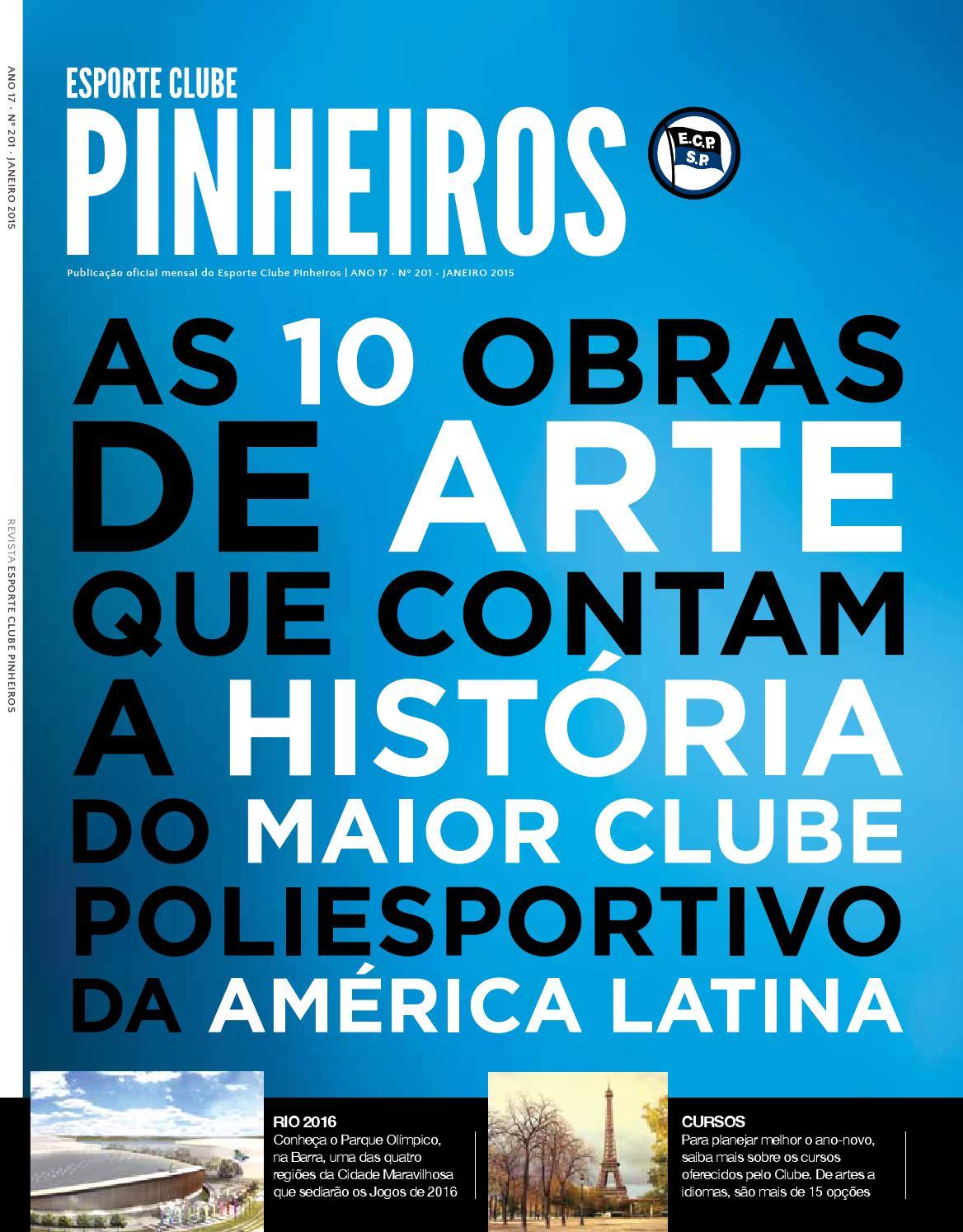 c9d7efc1f2 Revista n° 201 Janeiro 2015 by Esporte Clube Pinheiros - issuu