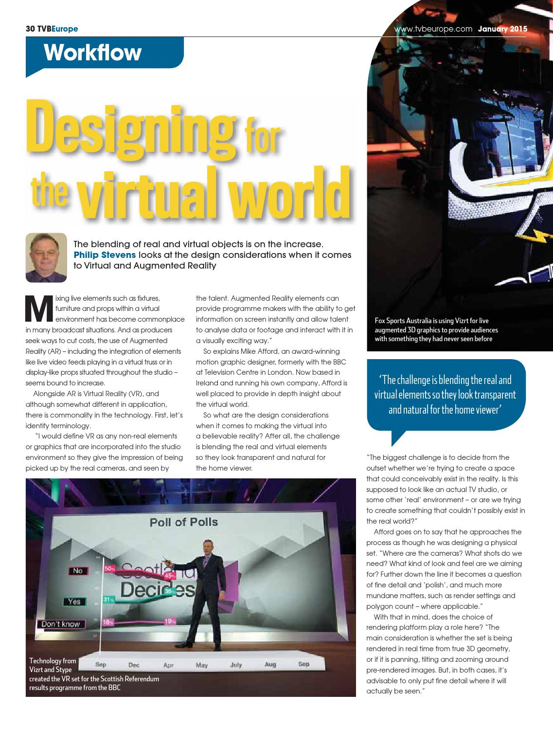 TVBEurope January 2015 digital edition by Future PLC - issuu
