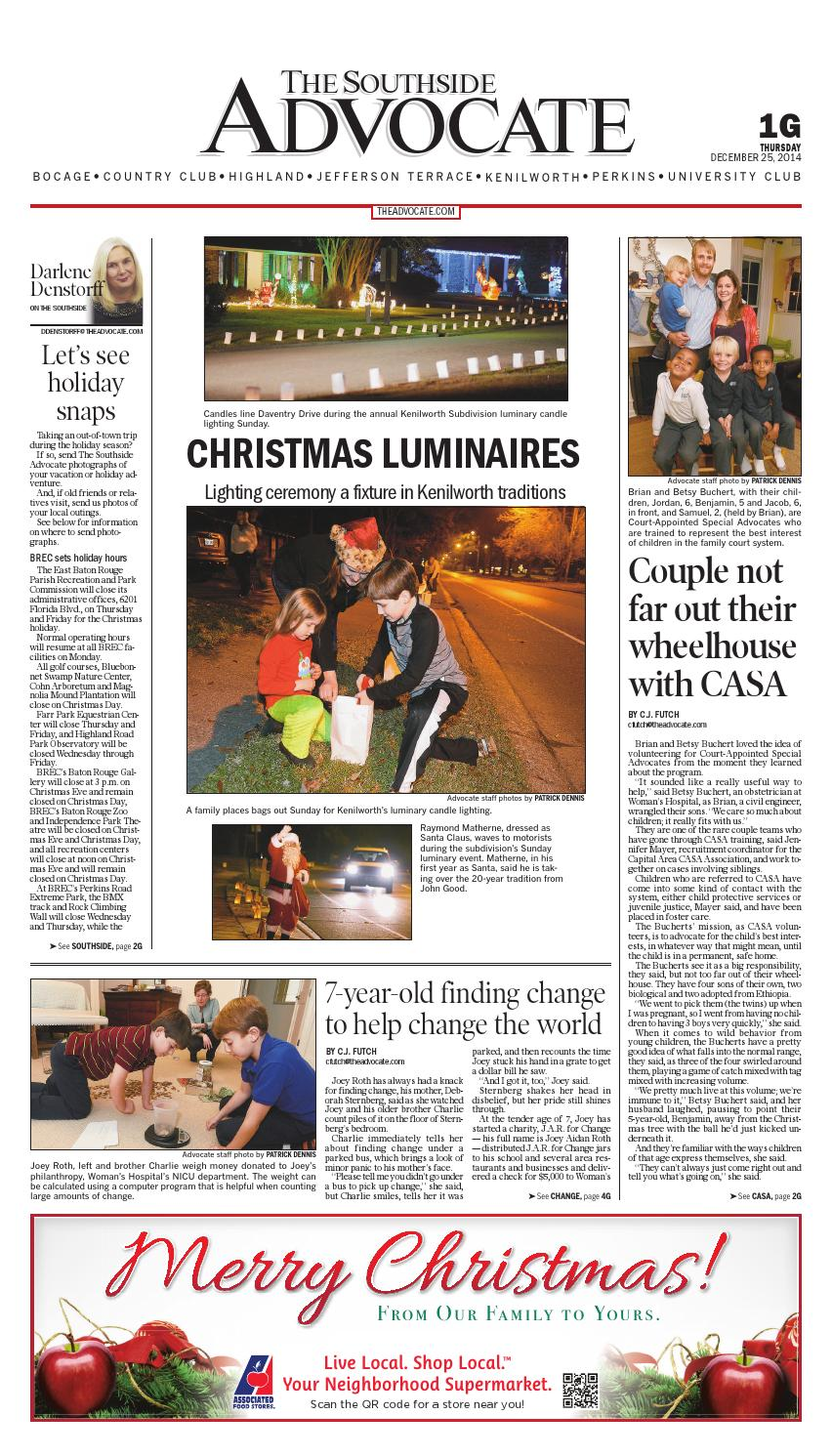 The Southside Advocate (12/25/14) by The Advocate - issuu