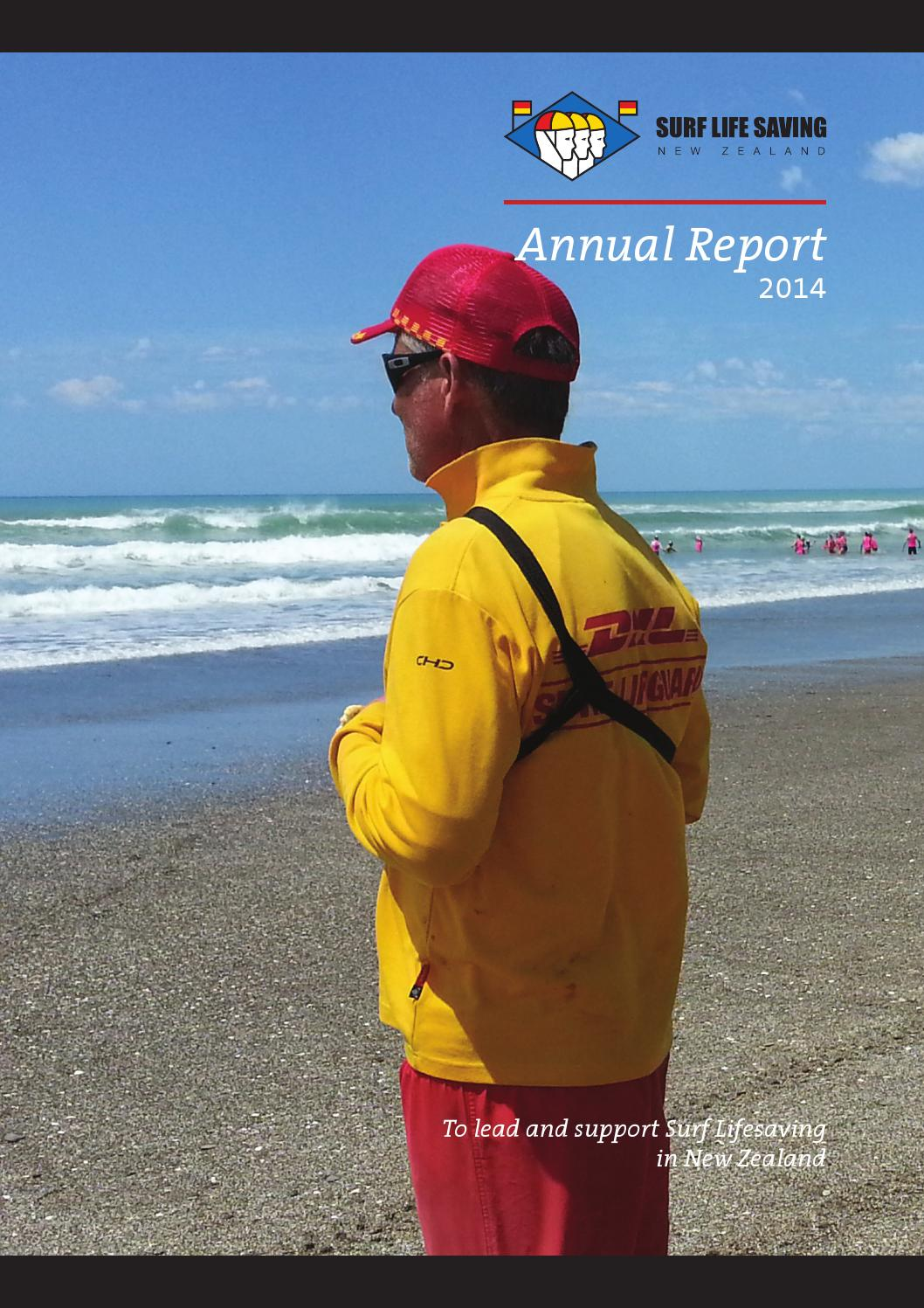 b61b09a96bc 2014 Annual Report by Surf Life Saving New Zealand - issuu
