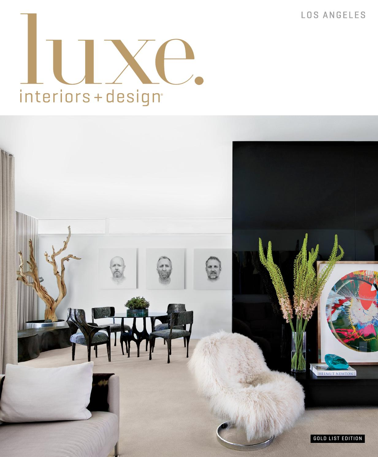 Luxe Magazine Winter 2015 Los Angeles by SANDOW® - issuu