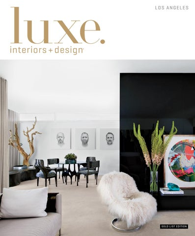 Page 1 Luxe Magazine Winter 2015 Los