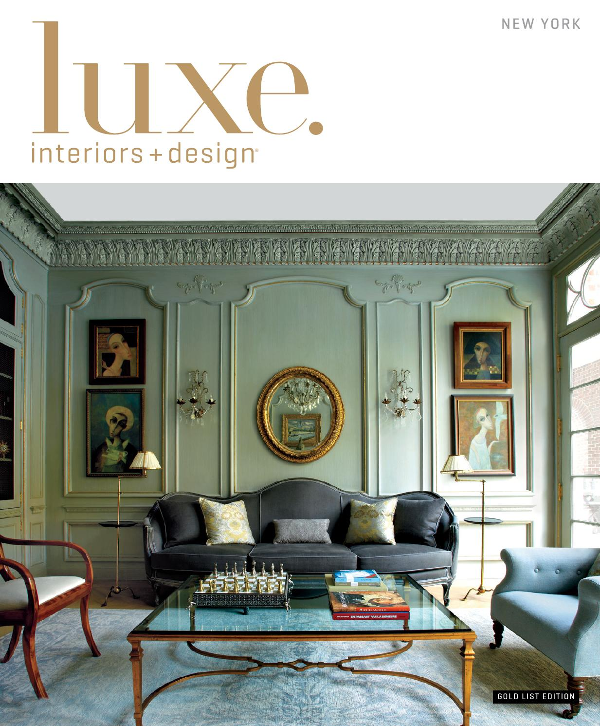 Luxe magazine winter 2015 new york by sandow issuu