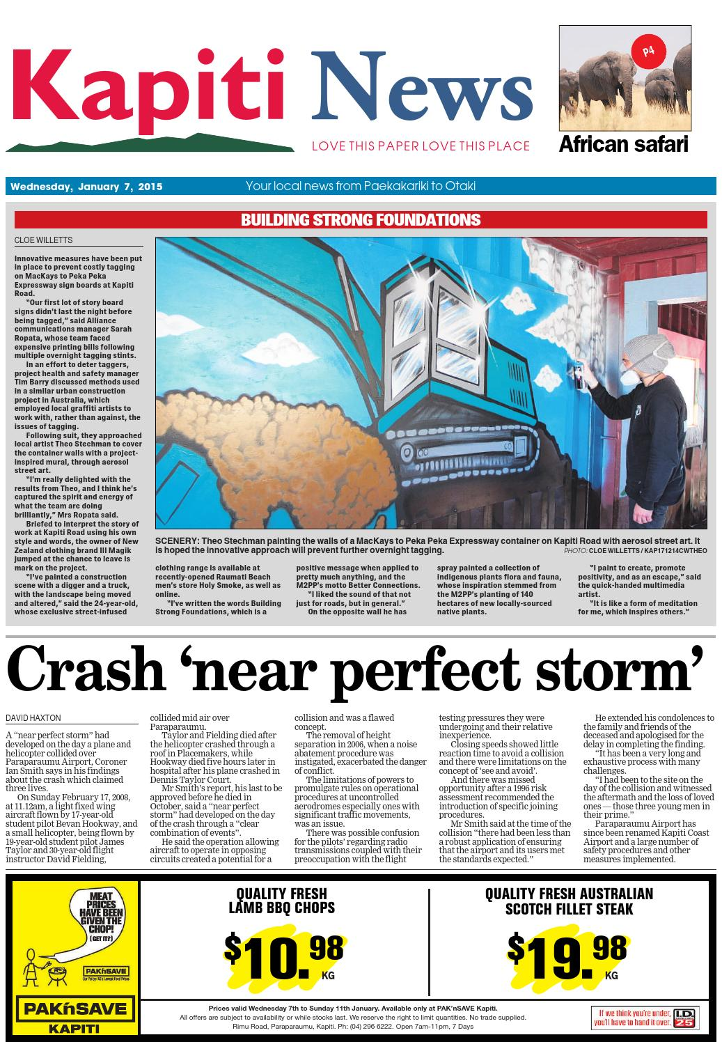 Kapiti news 07 01 15 by local newspapers issuu fandeluxe Choice Image