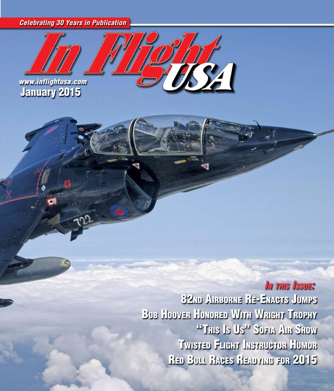 In Flight USA January 2015 By Anne Dobbins