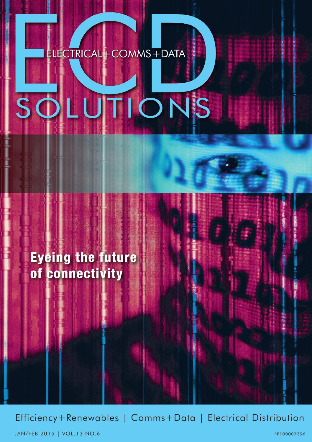 Ecd Solutions Jan Feb 2015 By Westwick Farrow Media Issuu Motion Sensors Clipsal Schneider Electric