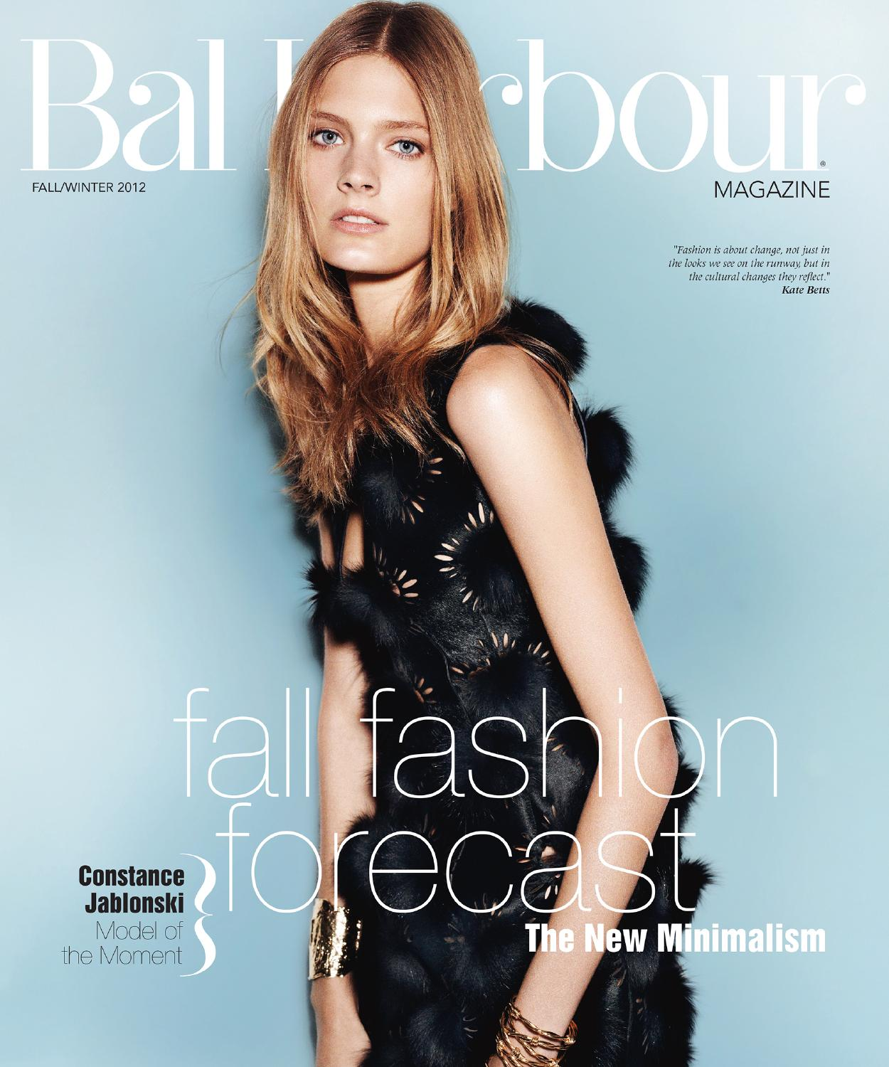 Bal Harbour Magazine Fall / Winter 2012 by Bal Harbour Shops - issuu