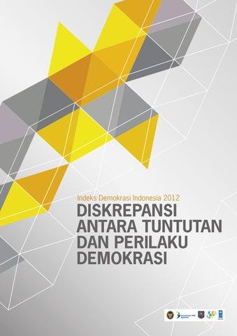 Indeks Demokrasi Indonesia 2012 By Glass Idea Issuu