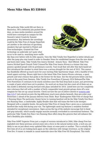 Mens Nike Shox R5 EI8464 by hystericalsilho86 - issuu 7faa1cabf