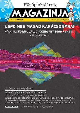 """Cover of """"Közmag December"""""""