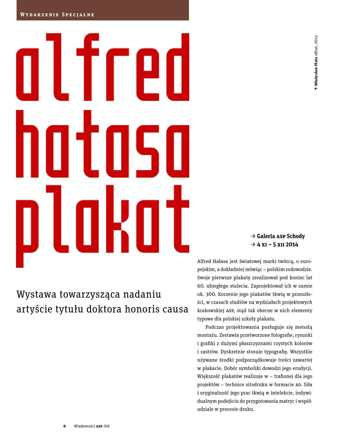 Wiadomości Asp W Krakowie Nr 68 By Wasp Issuu