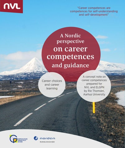 Career competences and guidance 2014 by nvl nordvux issuu career competences are competences for self understanding and self developmentx20ac malvernweather Image collections