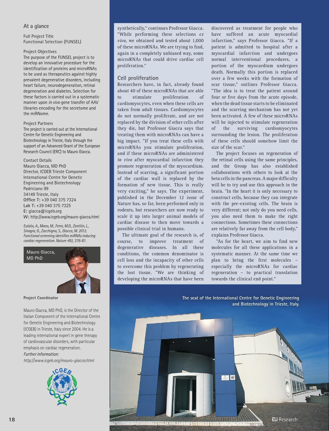 Eu research 4 digital magazine by Blazon Publishing and