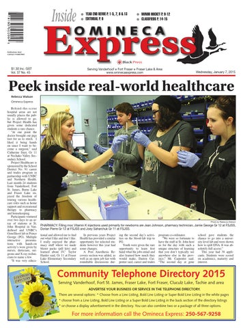 Vanderhoof Omineca Express, January 07, 2015