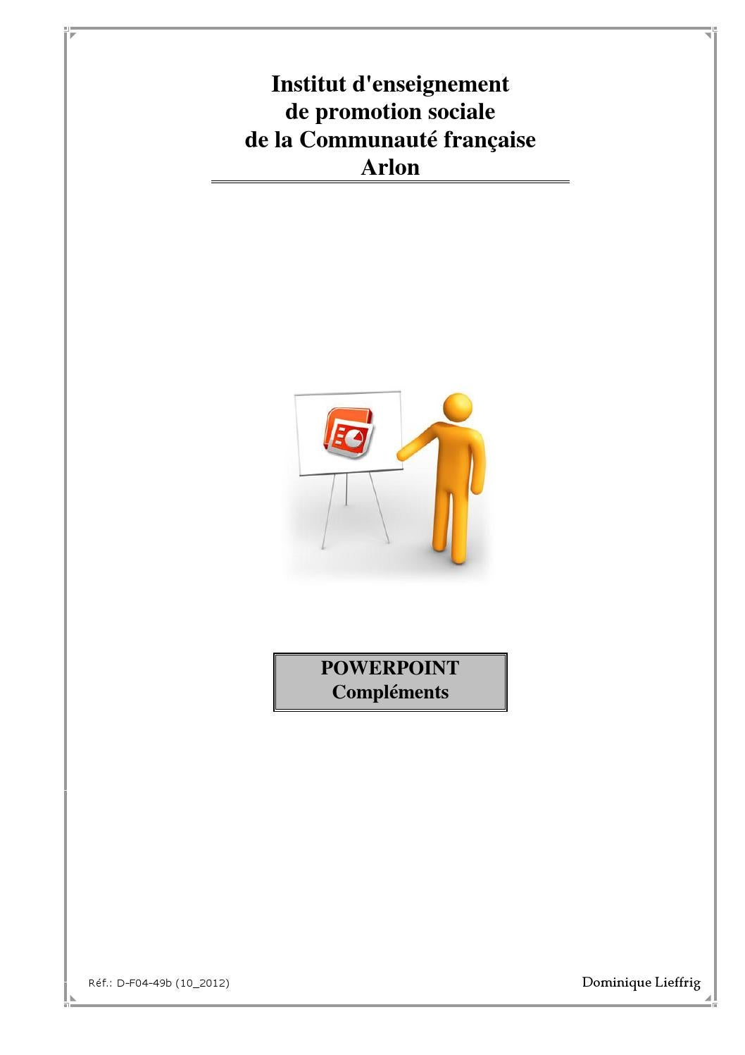 Syl powerpoint compl avec pg by infomobi - Issuu