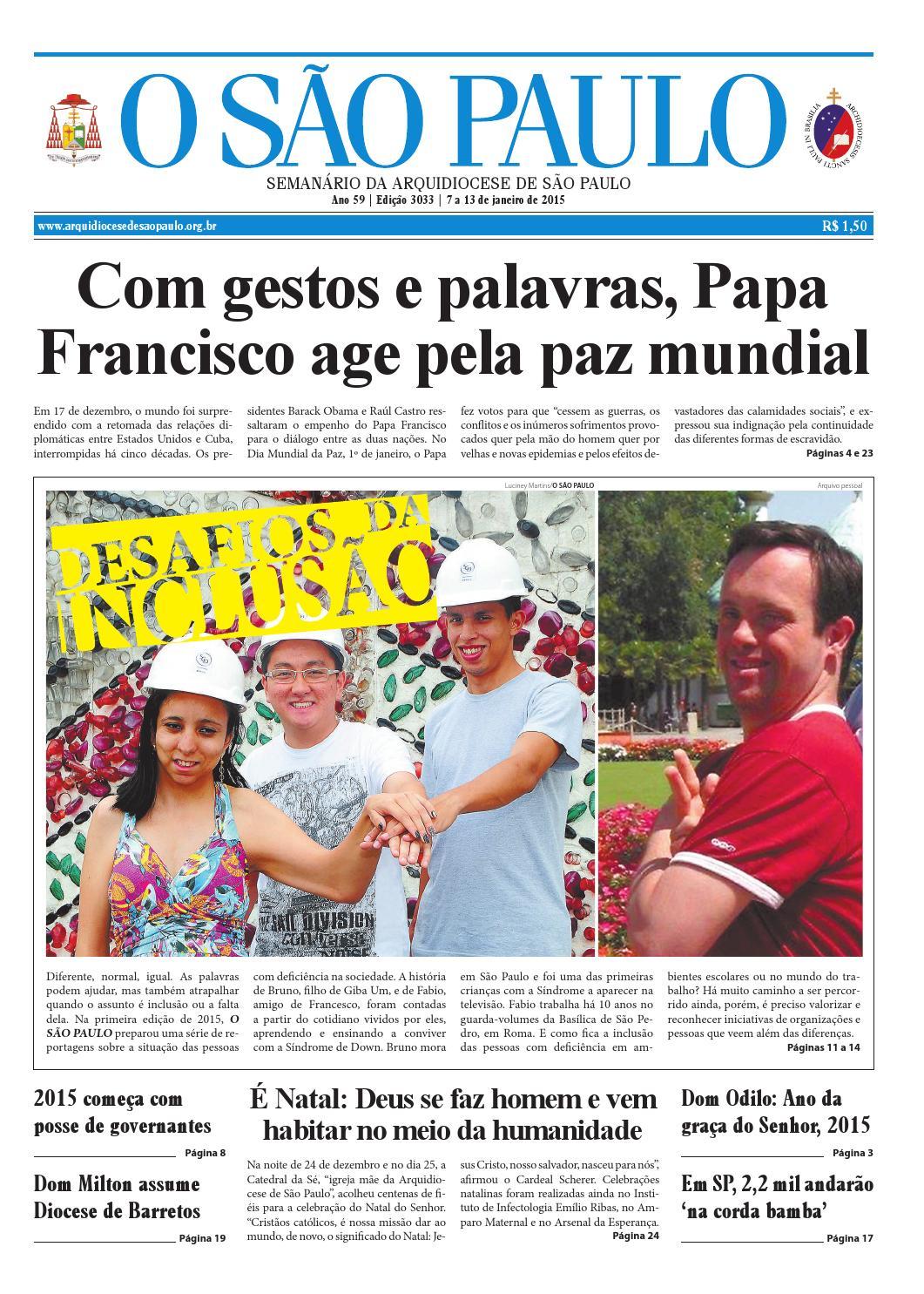 1b59a72c6 O SÃO PAULO - edição 3033 by jornal O SAO PAULO - issuu