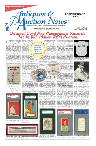 Antiques Auction News 071814 By