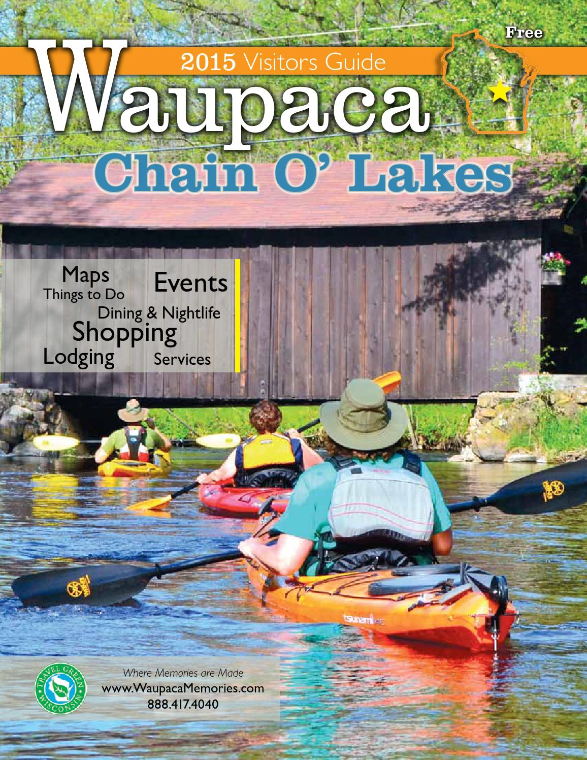 Iola Winter Carnival 2020.2015 Waupaca Area Visitor Guide By Waupaca Area Chamber Of