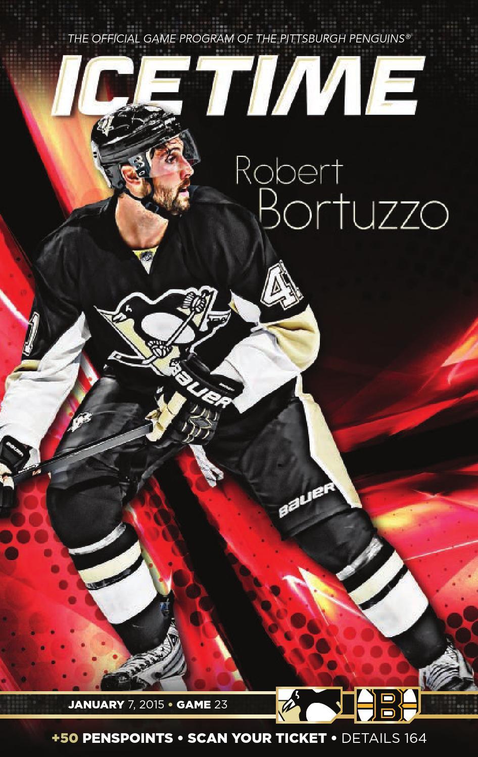 IceTime - Game 23 vs. Boston Bruins 1 7 15 by Pittsburgh Penguins ... 11499b140