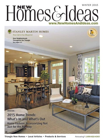 New Homes Ideas Winter 2015 Issue