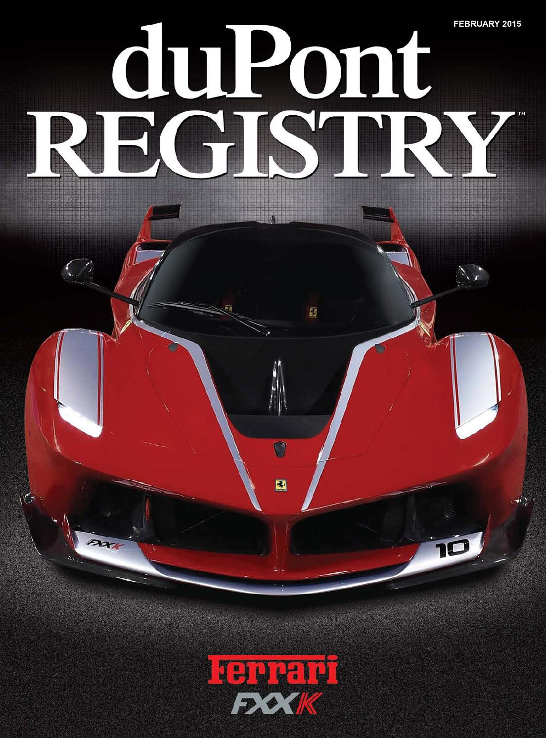 DuPontREGISTRY Autos February 2015 By DuPont REGISTRY   Issuu