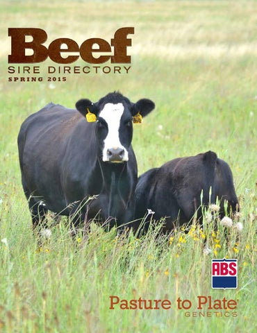 ABS Beef Sire Directory Spring 2015 by ABS Global, Inc  - issuu