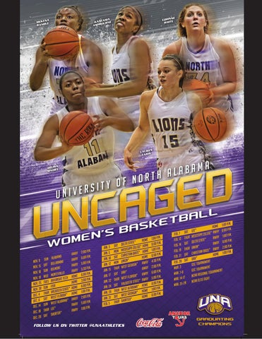 2014-15 UNA Women's Basketball Media Guide by University ...