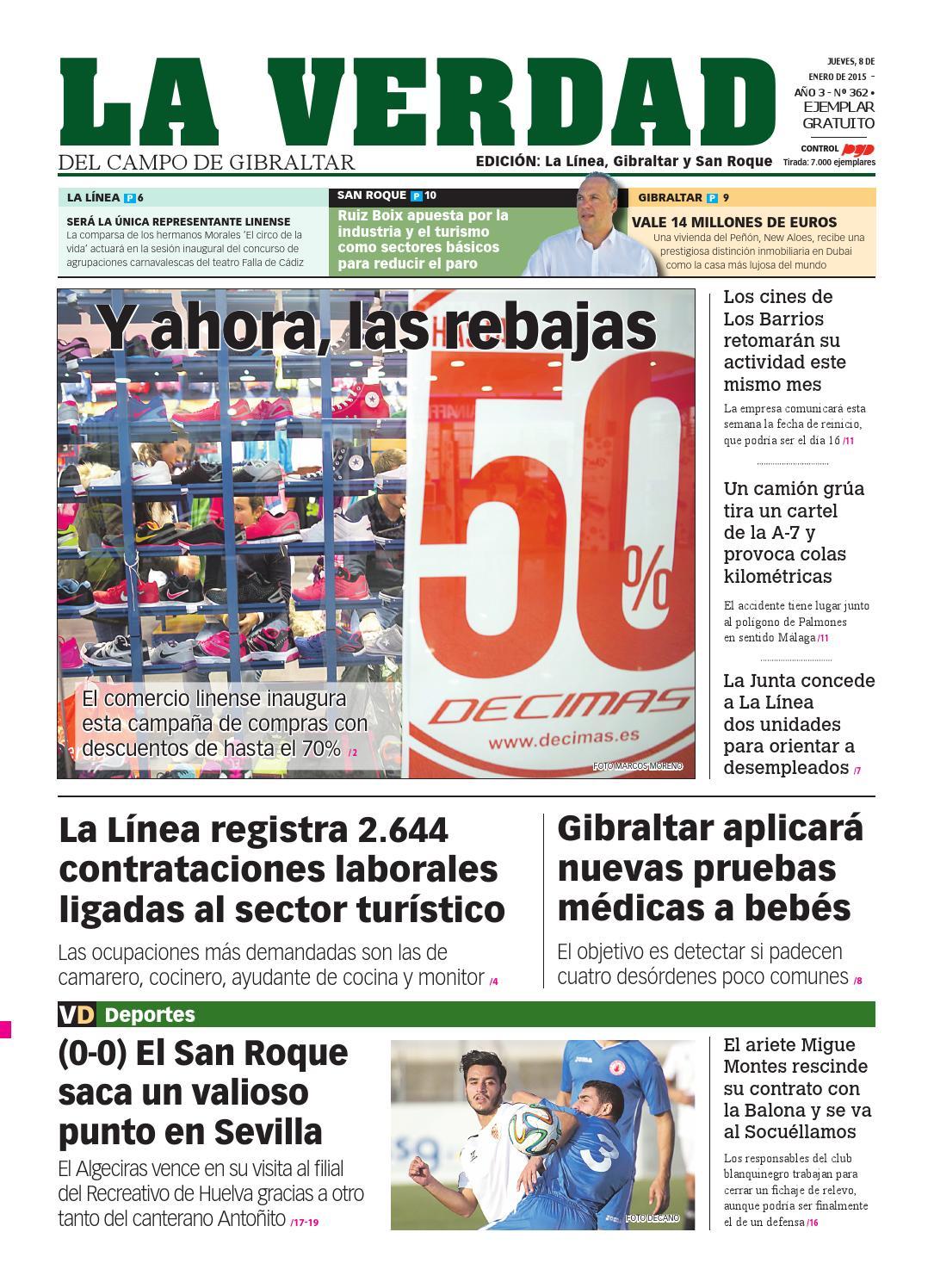 La Verdad La Linea 8 De Enero De 2015 By La Verdad Del Campo De  # Muebles Tienda Nueva Jedula
