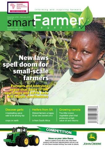 smartfarmer december 2014 february 2015 by nemani